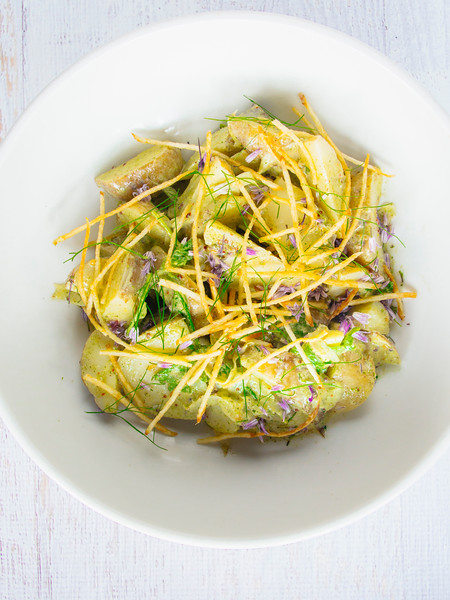 warm potato salad green garlic dressing-8.jpg