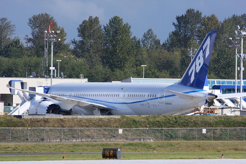 Boeing Tour - New 787 Dreamliner