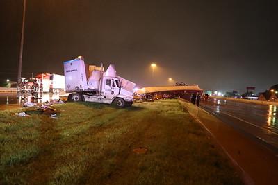 McKinney TX. 18 Wheeler accident Hwy. 75 9/10/20