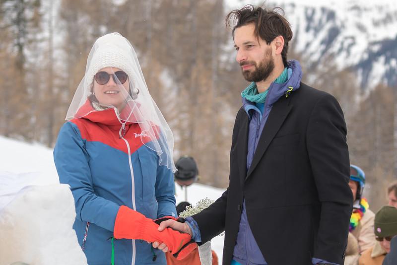 Peter and Noora Wedding - Grands Montets