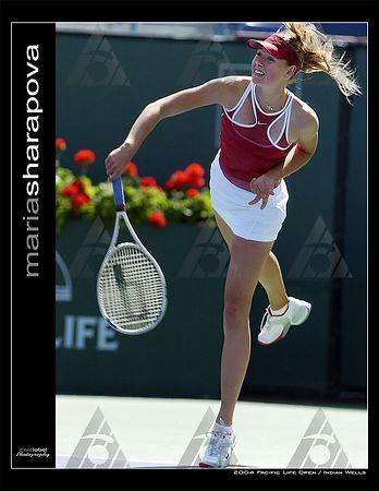 WTA R2: Maria Sharapova def. Flavia Pannetta