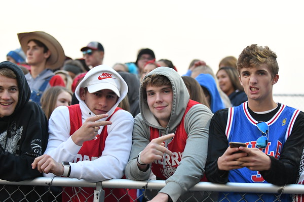 Crowd at Varsity Football vs Plattsmouth
