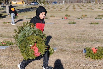 Winman MS Wreaths Across America Cleanup, 31 JAN 20