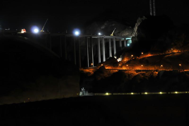 New bridge construction, June 2010
