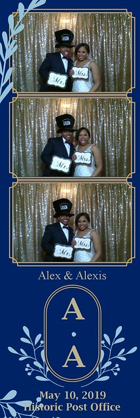 THE WEDDING OF ALEX AND ALEXIS