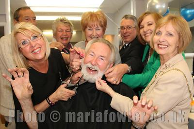 Mayor Dave's Charity Beard Shave