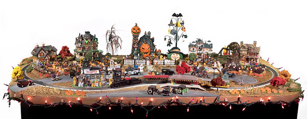 Building the Halloween Fright Fest Layout