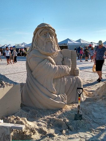 2019-11-22 -  Sand sculptures at Treasure Island