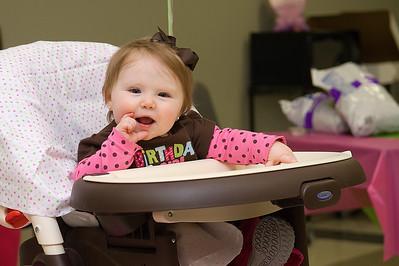 Addison's First Birthday