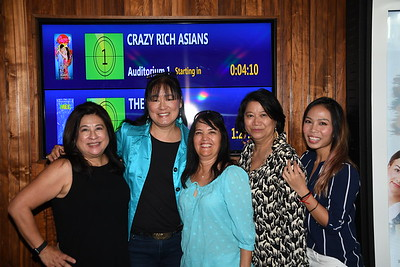 8-18-2018 DAABA Crazy Rich Asians Opening @ Studio Movie Grill