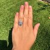 1.75ctw Edwardian Toi et Moi Old European Cut Diamond Ring  55
