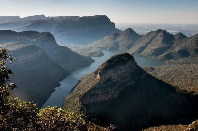 Drakensberg Mountains or Cathedral Peak in South Africa