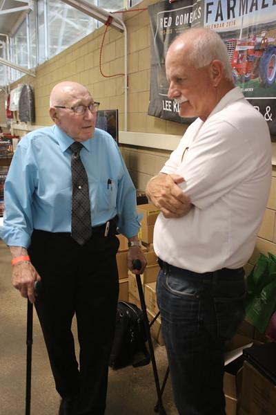 Douglass Steiger and Gerry Salzman