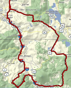 9/29/15 Mt. Shasta Ride