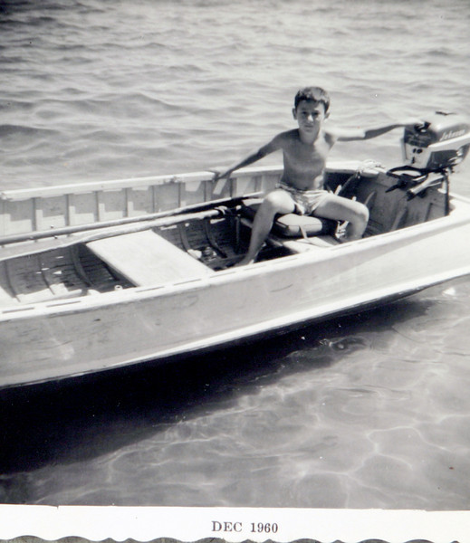 George taking the boat for a spin.JPG