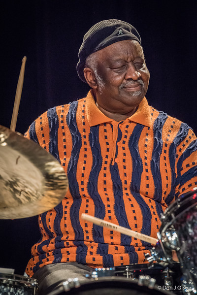 "Bernard ""Pretty"" Purdie--Let There Be Drums 2017--McNally Smith."