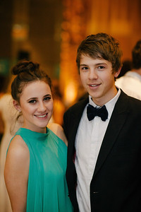 Boulcott Hall - Black & Gold Formal