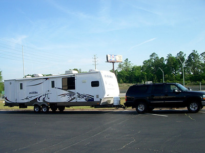 RV TOW WEIGHTS & HITCH SET UP & SATELLITE