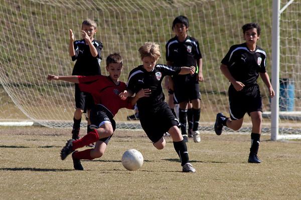 U-13 Fall Season 2009/ Tanner's Team