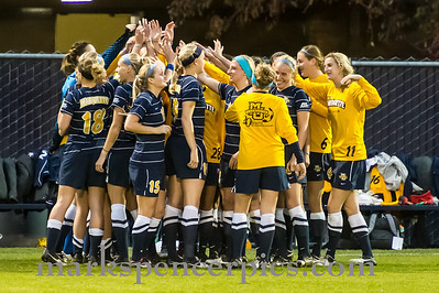 Soccer Marquette vs BYU 10-17-2012