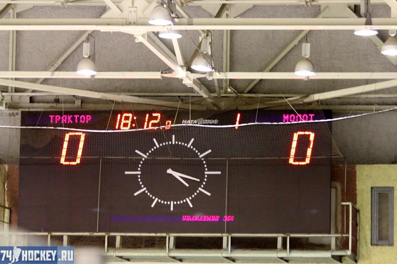 Трактор-1995 (Челябинск) - Молот-1995 (Пермь) 11:0. 19 ноября 2011