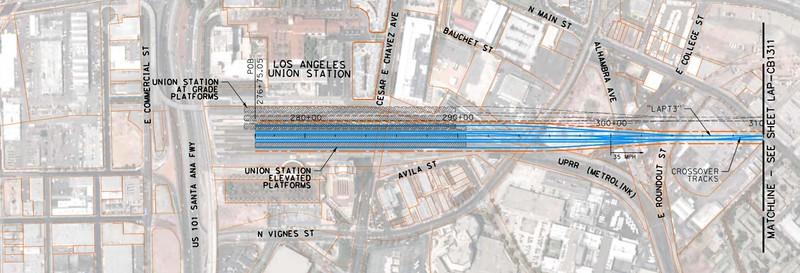 2011, Union Station Diagram