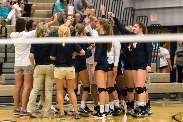 CC Varsity Volleyball vs Frankfort 2016-8-23