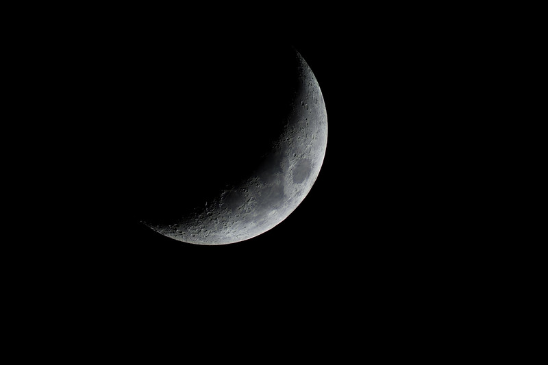 Waxing Crescent Moon of 2018-04-20