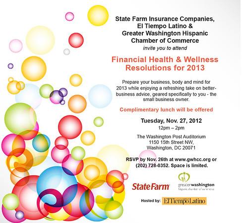 Financial Health - Wellness Event
