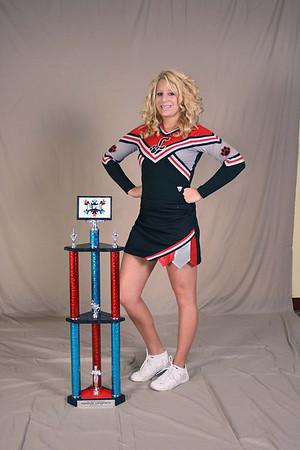 2007 - 2008 Falcon Elite Cheer Portraits