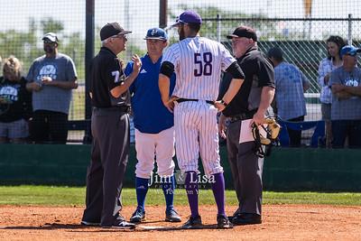 Baseball vs Hennessey, April 30 (Post-season)