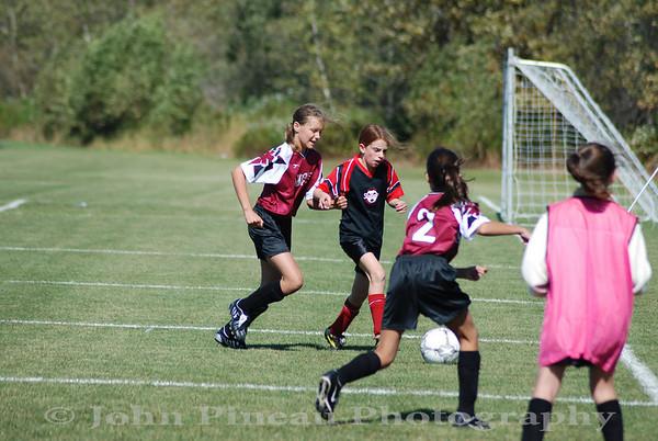 2009-09-19 Girls Soccer - South Portland Strikers vs Saco