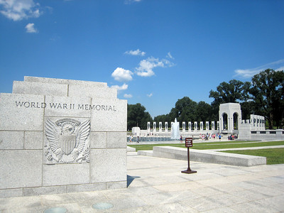 Vietnam, Korean, and World War II  Memorials