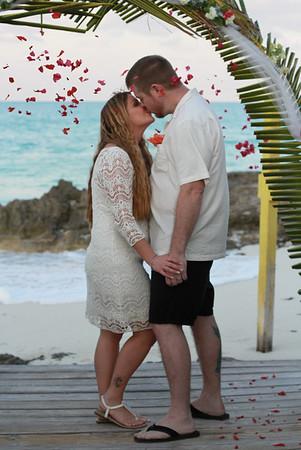Michael & Helen | Destination Wedding | Santana's Bar & Grill | Exuma, Bahamas