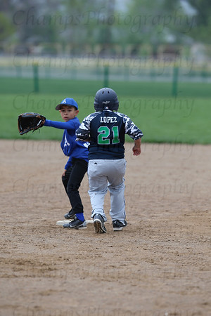 9U Generals vs Pirates