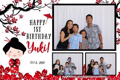 Yuki's 1st Birthday