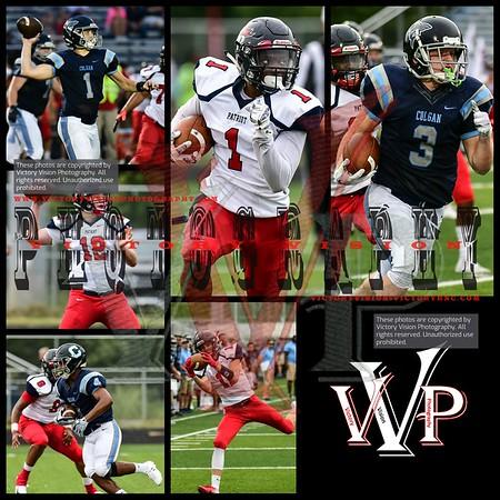 Patriot @ Colgan Varsity Boys Football 9-07-18