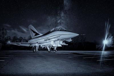 RAF Cosford EAP & TSR 2 Night shoot 14-03-20