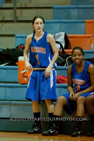 West Orange @ Boone Girls Varsity Basketball - 2011