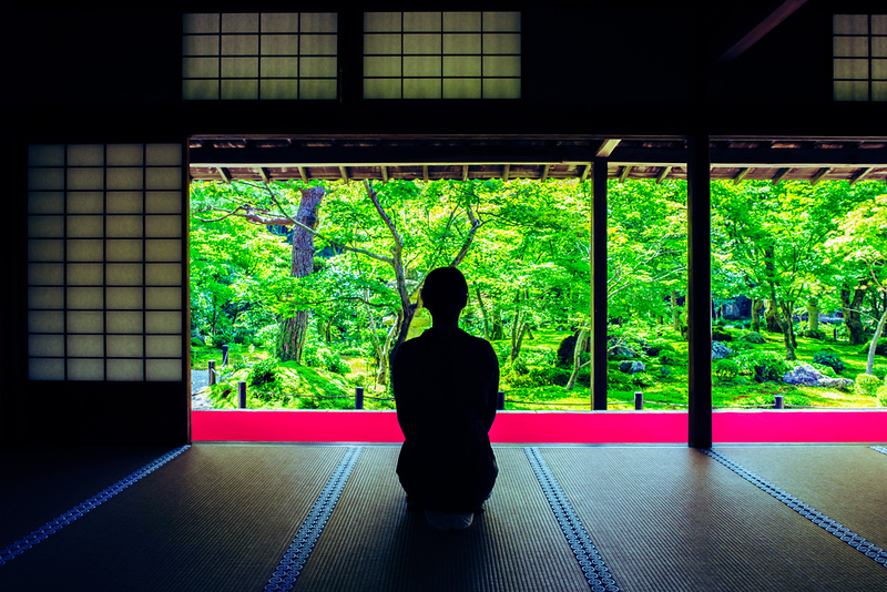 Zuiganzan Enkouji Temple at Sakyo-Ku. Editorial credit: beeboys / Shutterstock.com