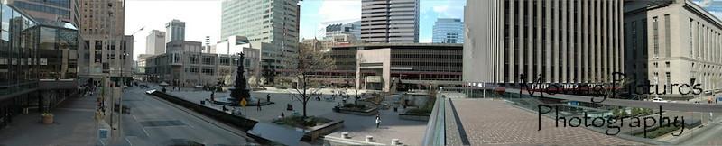 Cincinnati's Fountain Square ~ 2005