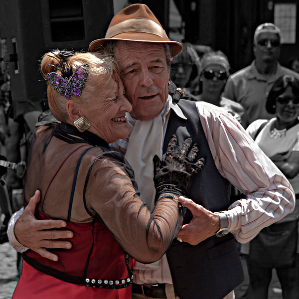 Never too Old to Tango