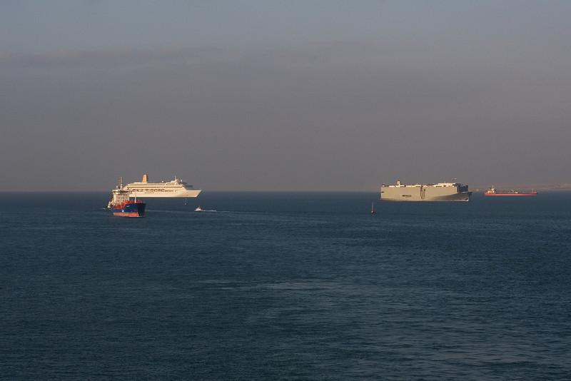 Oriana waiting to enter the Suez.jpg