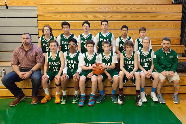 Park Varsity Basketball 2015-16