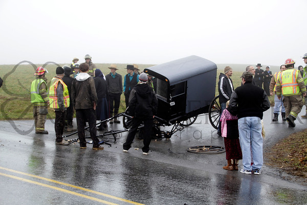 01.04.15 Horse & Buggy crash in Sailsbury Township