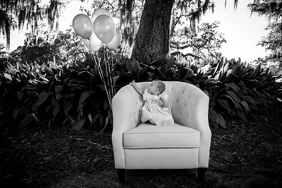 Mila's First Birthday Shoot