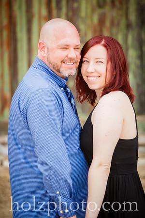 Katie & Steve Color Engagement Photos