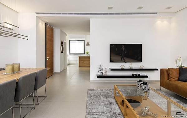 בית באזור המרכז. עיצוב פנים: שרון אייגר. אדריכלות: גל מרום אדריכלים