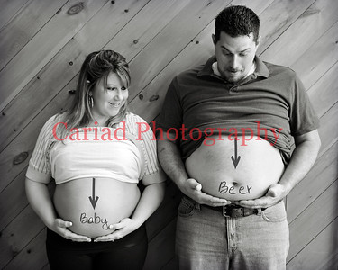 Jessica and Ricky Pregnancy Session - Clayton, GA Photography
