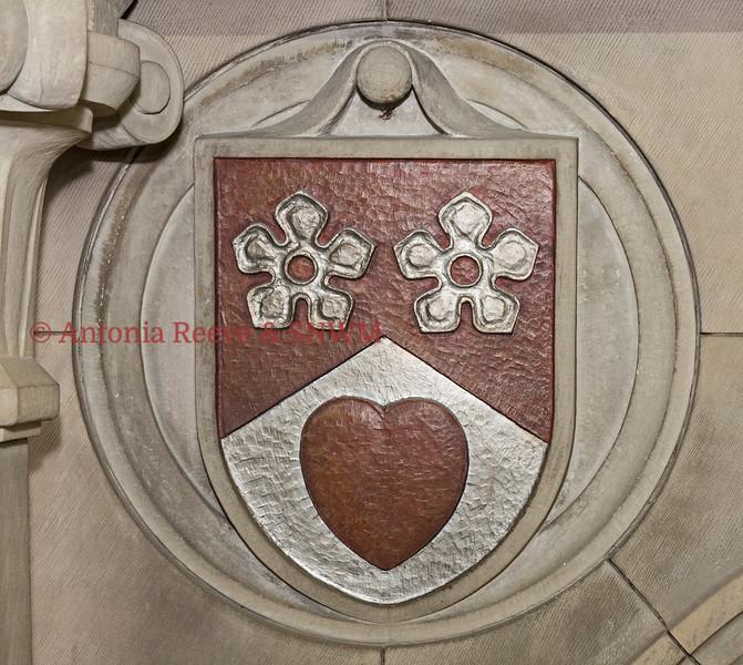 Stone Carved Shield,  Lanark